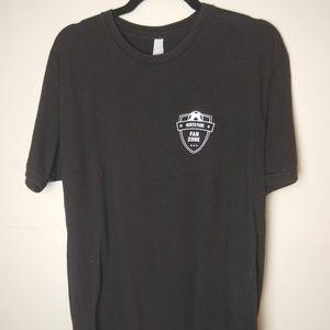 Next Level Apparel North Park Fan Zone Shirt Large